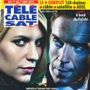 Claire Danes, Damian Lewis - Télé Cable Satellite Magazine Cover [France] (1 June 2013)