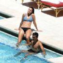 Oriana Sabatini in Bikini at the pool in Miami - 454 x 308