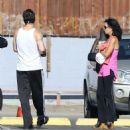 Colin Farrell & His Sister Claudine Hit Up A Yoga Class - 454 x 504