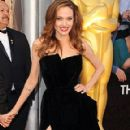 Angelina Jolie - Oscars 2012 Red Carpet