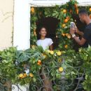 Shanina Shaik – During a photoshoot in West Hollywood