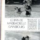 Charlotte Gainsbourg - Jours de France Magazine Pictorial [France] (8 July 1974)