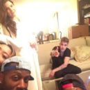 Justin Bieber and Amanda Cerny - 454 x 606