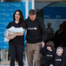 Pilar Rubio And Sergio Ramos Present Their New Born Child in Madrid - 401 x 600