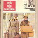 Omar Sharif - Amis Du Film Et De La Télévision Magazine Cover [France] (December 1966)