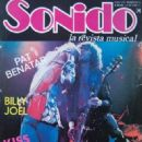Sonido Magazine Cover [Mexico] (May 1983)
