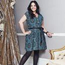 Martine McCutcheon for Fashion World Pleated Print Dress - 454 x 571