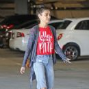 Mila Kunis – Arrives at a local nails salon in LA