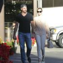 Kate Upton – Shopping at the CVS with Justin Varlander in Beverly Hills - 454 x 515