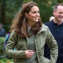 Kate Middleton – Visit to Sayers Croft Forest School and Wildlife Garden in London