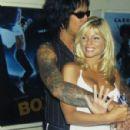 Donna D'Errico and Nikki Sixx