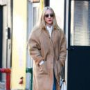 Chloe Sevigny in Long Coat – Out in New York City - 454 x 736