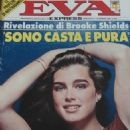 Brooke Shields - Eva Express Magazine Cover [Italy] (18 February 1982)