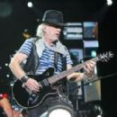 Aerosmith lands in Laval. Aerosmith performed Tuesday, July 10, 2012 at Laval's Centre de la nature.