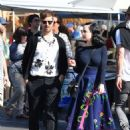 Dita von Teese and boyfriend Adam Rajcevich – Shopping in Los Angeles