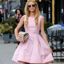 Paris Hilton spotted out and about in New York City, New York on September 8, 2014