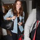 Ashley Greene arriving at LAX airport in Los Angeles, CA (September 7)