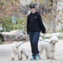 Kathryn Newton – Walking her dogs in Los Angeles - 454 x 349
