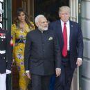 Melanie Trump – Meet Indian Prime Minister Narendra Modi in Washington - 454 x 640