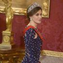 King Felipe and Letizia host a dinner for Portuguese president - 367 x 600