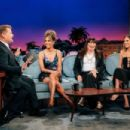 James Corden, Halle Berry, Anjelica Huston and Allison Williams At The Late Late Show with James Corden (May 2019) - 454 x 303