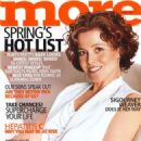 Sigourney Weaver - More Magazine Cover [United States] (March 2003)