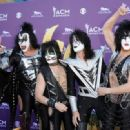 Kiss backstage at the 47th Annual Academy Of Country Music Awards held at the MGM Grand Garden Arena on April 1, 2012 in Las Vegas, Nevada - 454 x 331
