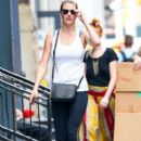 Kate Upton stops by a gym for a workout in New York City, New York on August 1, 2016 - 399 x 600