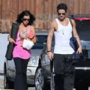 Colin Farrell & His Sister Claudine Hit Up A Yoga Class - 454 x 547