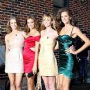 "Irina Shayk: ""Late Show"" SI Swimsuit Cover Girl"
