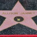 Allison Janney's newly unveiled Star at her Hollywood Walk of Fame star ceremony on October 17, 2016 in Hollywood, California - 454 x 269