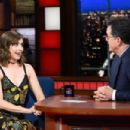 Alison Brie – 'The Late Show with Stephen Colbert' in New York