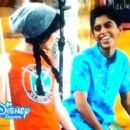 Karan Brar and Kelly Washington