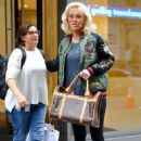 Jenny McCarthy – Leaving work in New York City