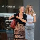 Cameron Diaz in Long Skirt at Bellacures Nails in Beverly Hills - 454 x 681