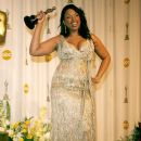 Best Supporting Actress winner Jennifer Hudson with her statuette at the 79th Annual Academy Awards - 389 x 594