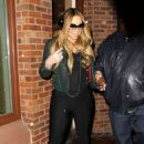 Mariah Carey: shopping in Aspen