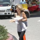 AnnaLynne McCord - On The 90210 Set On The Beach In Redondo, 2009-07-14