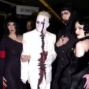 Tim and Erin Skold with Marilyn Manson and Dita Von Teese