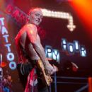 Def Leppard live at Ak-Chin Pavillion on September 23, 2015 in Phoenix, AZ