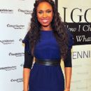 Jennifer Hudson Signs Her Book at the Weight Watchers Center in Atlanta