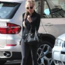 Kimberly Stewart leaving a spa in West Hollywood, California on January 25, 2014 - 422 x 594