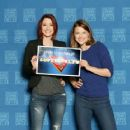 Chyler Leigh and Melissa Benoist at the Chicago Comic Expo 2016