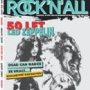 Led Zeppelin - Rock 'n' All Magazine Cover [Czechoslovakia] (October 2018)