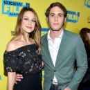 Melissa Benoist and Blake Jenner - 'Everybody Wants Some' Screening – 2016 SXSW Festival in in Austin, Texas