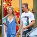 Annabelle Wallis and Chris Martin - 454 x 512