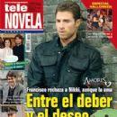 Sebastián Rulli, Amores verdaderos - Tele Novela Magazine Cover [Spain] (29 October 2012)