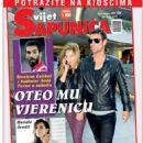 Ibrahim Celikkol, Sinem Kobal - Svijet Sapunica Magazine Cover [Bosnia and Herzegovina] (February 2015)