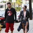 Ashley Benson and Ryan Good in Los Angeles, California (February 4) - 454 x 564