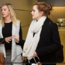 Emma Watson At Ankunft Findel Airport In Luxembourg